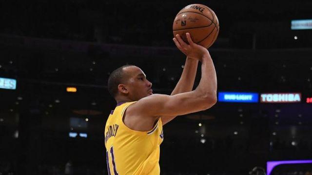 Los Angeles Lakers guard Avery Bradley