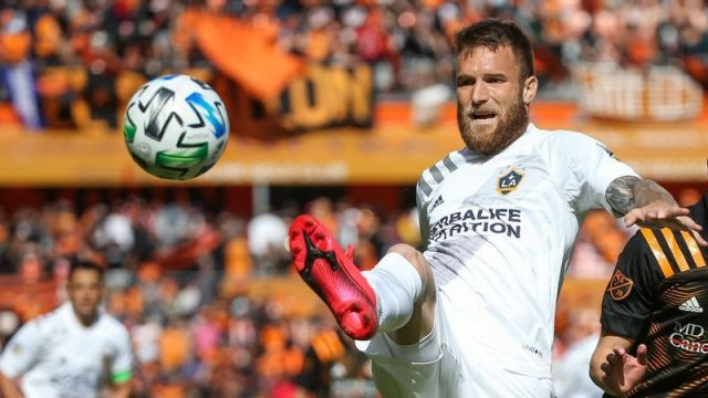 Los Angeles Galaxy midfielder Aleksandar Katai