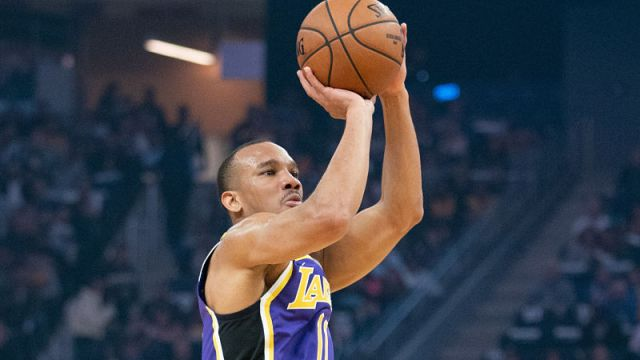 Los Angeles Lakers guard Avery Bradley