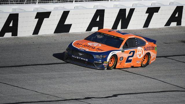 NASCAR driver Brad Keselowski
