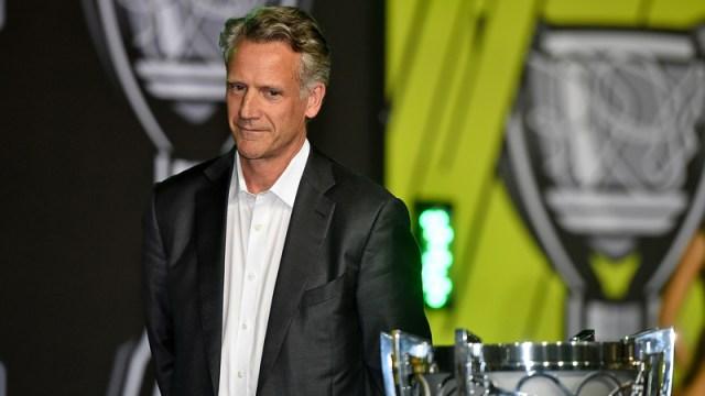 NASCAR president Steve Phelps
