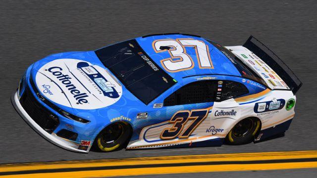 NASCAR driver Ryan Preece