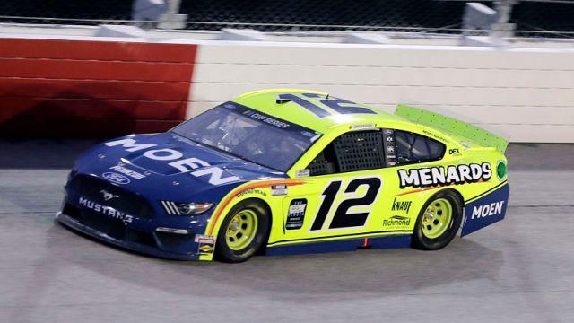 NASCAR driver Ryan Blaney