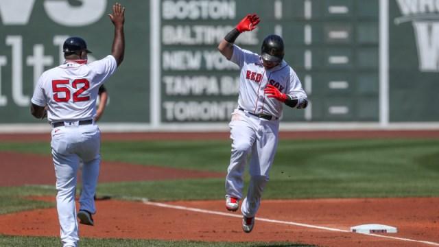Boston Red Sox Catcher Christian Vazquez