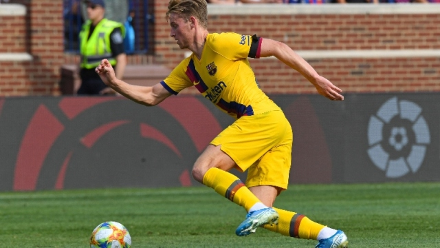 Barcelona defender Clement Lenglet