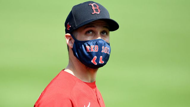 Boston Red Sox pitcher Collin McHugh