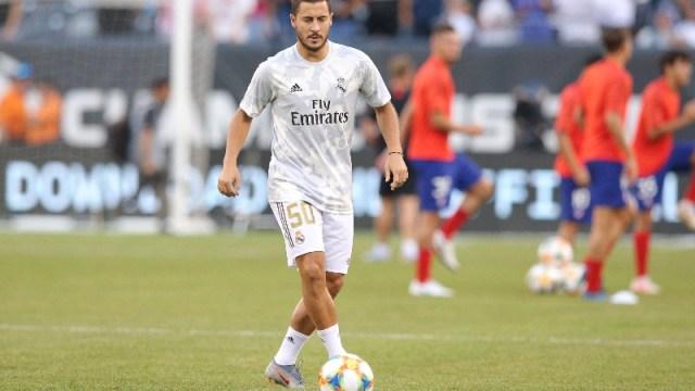Real Madrid midfielder Eden Hazard