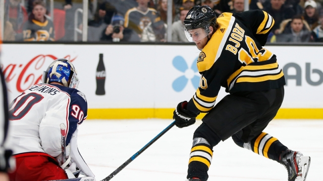 Boston Bruins Winger Anders Bjork