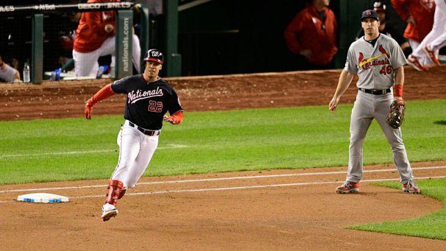 Washington Nationals outfielder Juan Soto and St. Louis Cardinals first baseman Paul Goldschmidt