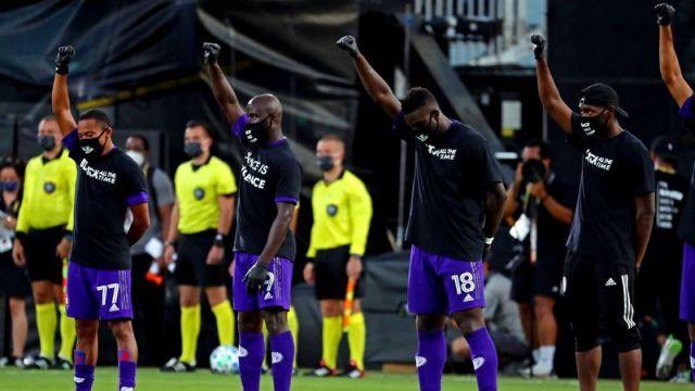 MLS Black Lives Matter protest