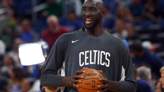 Boston Celtics center Tacko Fall