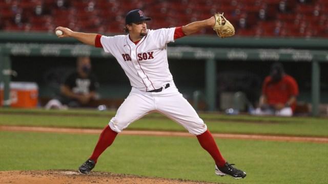 Boston Red Sox Pitcher Zack Godley