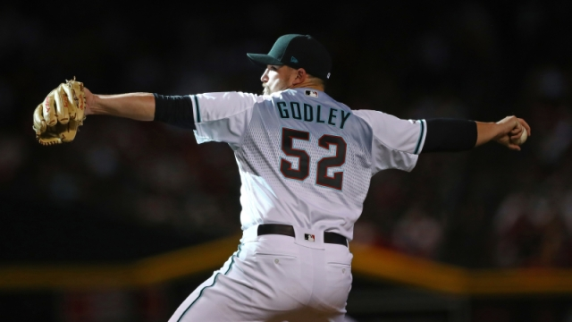 Arizona Diamondbacks pitcher Zack Godley