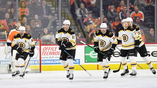 Bruins winger Anders Bjork