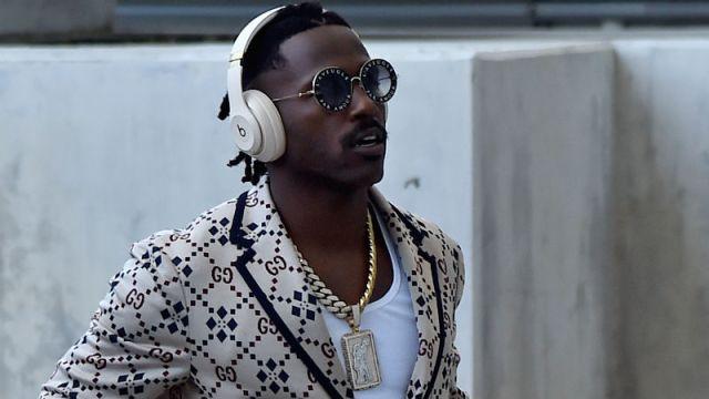 Tampa Bay Buccaneers wide receiver Antonio Brown