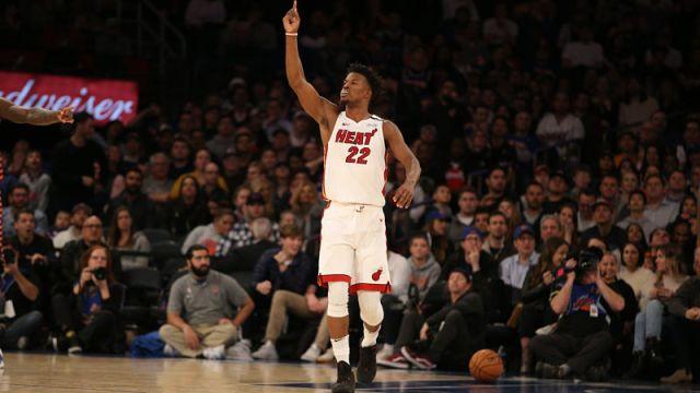 Miami Heat small forward Jimmy Butler