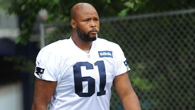 New England Patriots offensive lineman Marcus Cannon