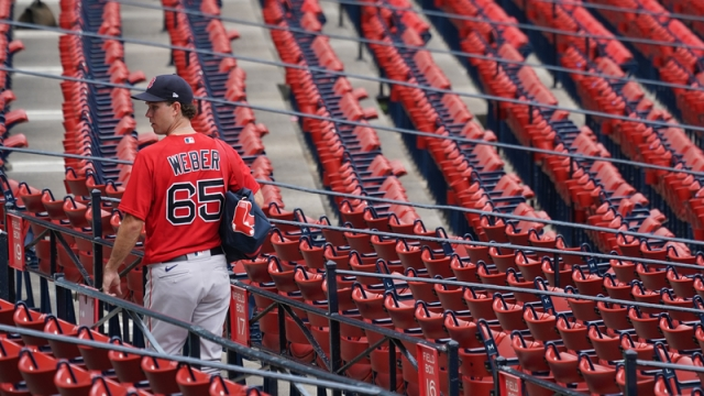 Boston Red Sox's Ryan Weber