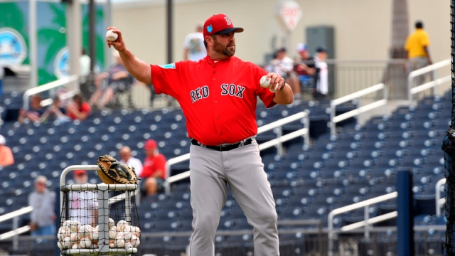 Former Boston Red Sox Catcher Jason Varitek