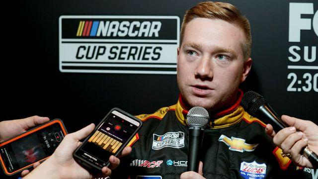 NASCAR driver Tyler Reddick