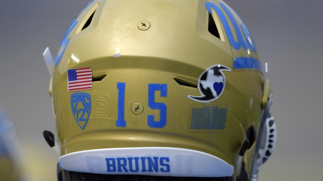 UCLA football helmet