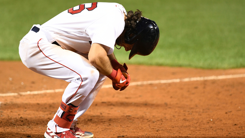 Boston Red Sox Left Fielder Andrew Benintendi