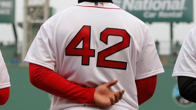 Boston Red Sox on Jackie Robinson Day