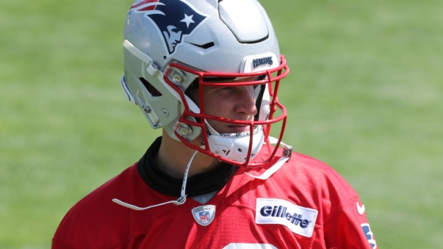 New England Patriots quarterback Brian Lewerke