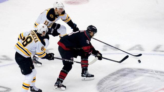 Boston Bruins Vs. Carolina Hurricanes