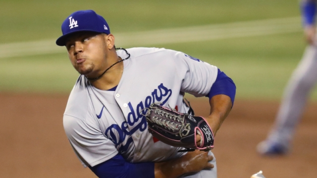 Los Angeles Dodgers pitcher Brusdar Graterol