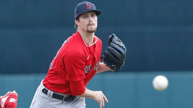 Boston Red Sox pitcher Chris Mazza