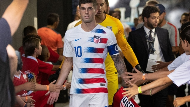 Chelsea FC and United States forward Christian Pulisic