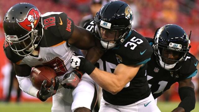 Jacksonville Jaguars safety Cody Davis
