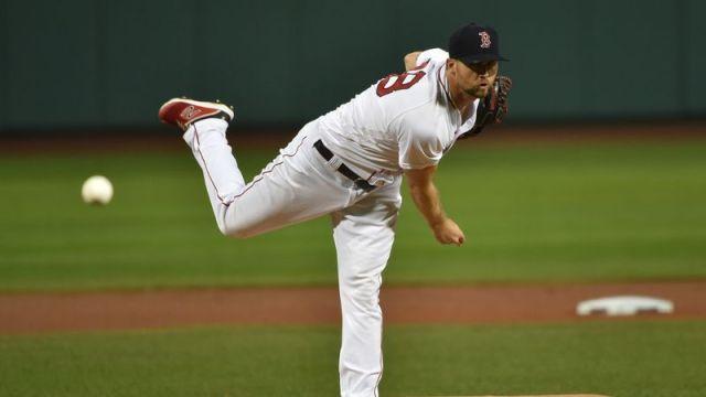 Red Sox starting pitcher Colten Brewer