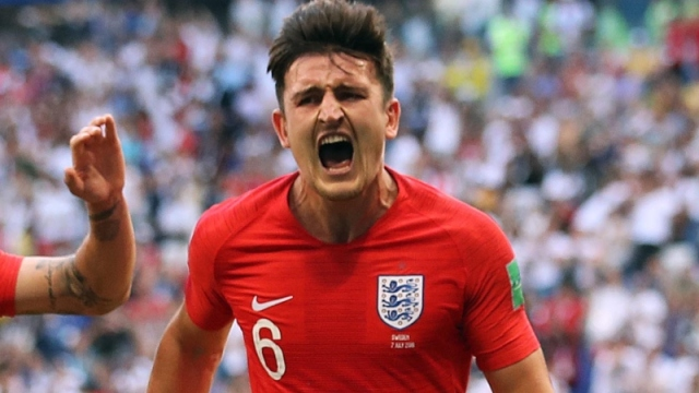 England and Manchester United defender Harry Maguire