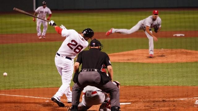 Boston Red Sox Designated Hitter J.D. Martinez