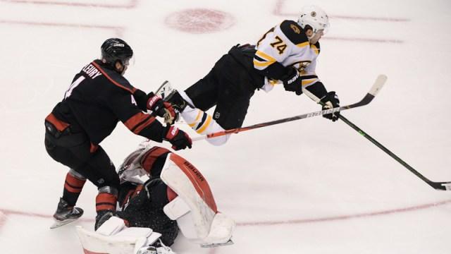 Boston Bruins Winger Jake DeBrusk
