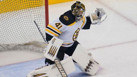 Boston Bruins goaltender Jaroslav Halak