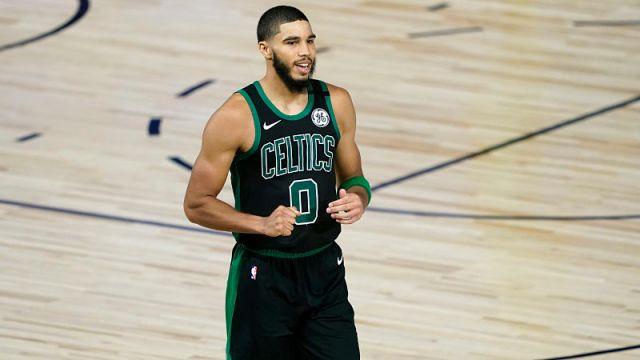 Boston Celtics foward Jayson Tatum