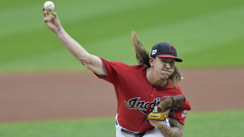 San Diego Padres pitcher Mike Clevinger