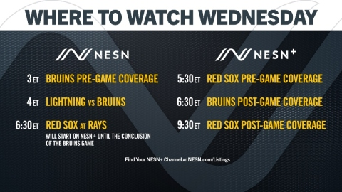 NESN Red Sox, Bruins coverage