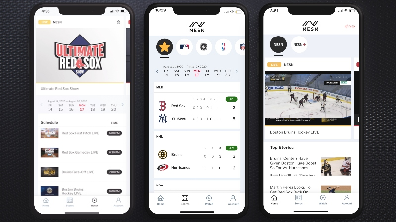 NESN Launches New Digital Experience
