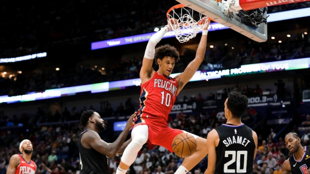 New Orleans Pelicans Vs. Los Angeles Clippers