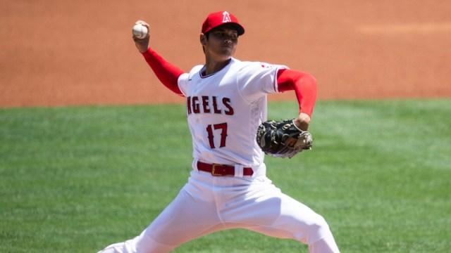 Los Angeles Angels' Shohei Ohtani