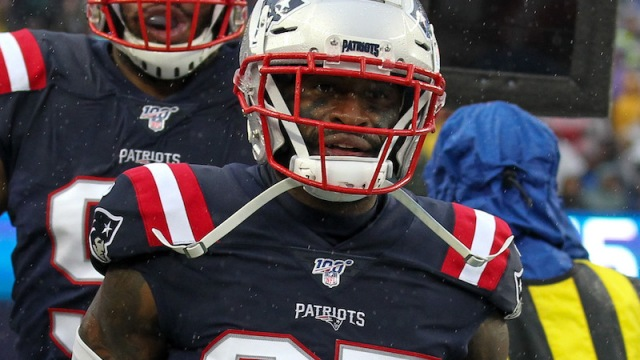 Patriots safety Terrence Brooks