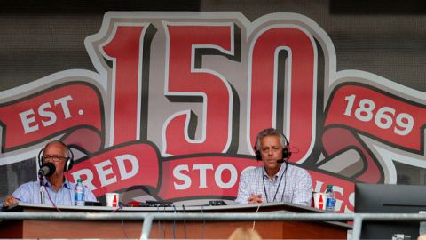 Cincinnati Reds announcer Thom Brennaman