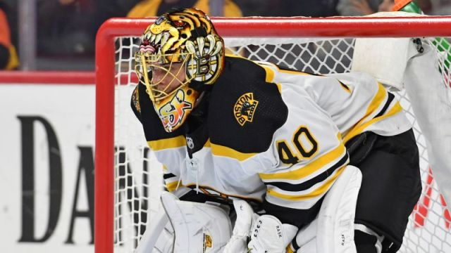 Boston Bruins' Tuukka Rask