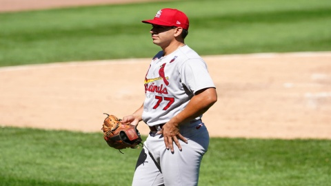 St. Louis Cardinals pitcher Roel Ramirez