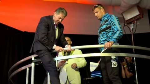 Vince McMahon, Rob Gronkowski