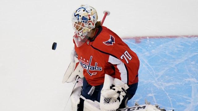 Washington Capitals' Braden Holtby